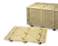 Palete em fibra de madeira 1200x1000mm