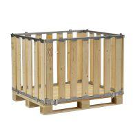MPBOX removível 1200x800x700mm - madeira