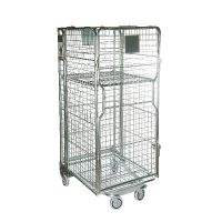 Roll container encaixável de metal 860x737x1676
