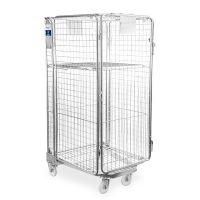 Roll container de segurança 850x735x1690mm usado