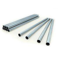 Tubo metal galvanizado, 1680mm, para rack