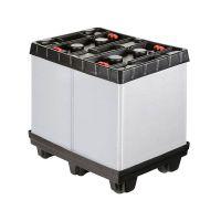 Contentor dobrável de plástico, Tripbox, 810x612x765mm