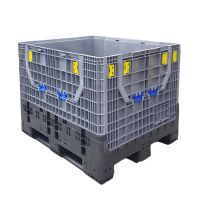 Contentor dobrável de plástico 1200x1000x975 mm