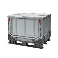 Contentor plástico dobrável 1211x1011x903 mm - Desdobrável