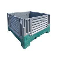 Contentor plástico dobrável - 1200x1000x900mm - 714 L - Usado