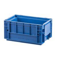 Caixa empilhável azul 297x198x147,5mm - capacidade 8,67 litros
