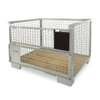 Gitterbox Novo DIN 1240x835x970mm - UIC Padrão 435-3