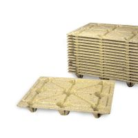 Palete fibra de madeira 1200x1000x135 mm