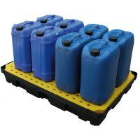 Tina de retenção 1200x800x175mm com grade - 100 litros