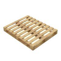 Um tempo de 1200x1000x136mm meio palete de madeira
