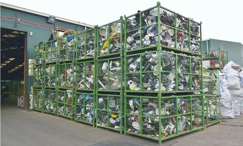 Utilizar embalagens logísticas adequadas para o processo de reciclagem de produtos eléctricos