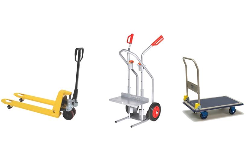 Carrinho de transporte - funções importantes e aplicação em armazém