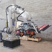 Automatização da produção - Novos robôs na produção de paletes na Rotom Holanda e França