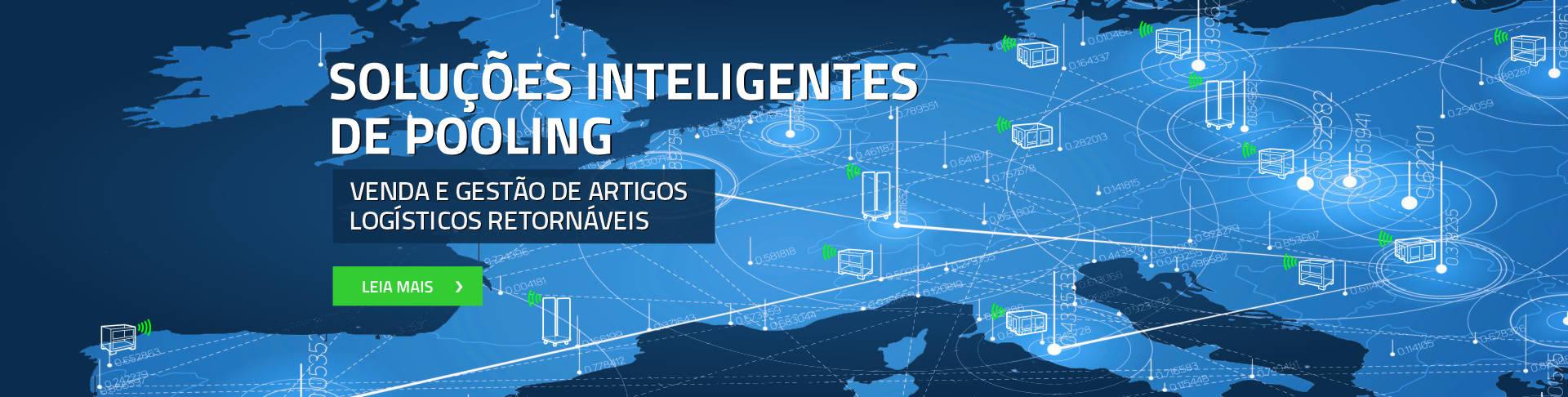 Soluções inteligentes de pooling venda e gestão de artigos logísticos retornáveis